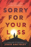 Sorry for your loss Book cover