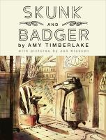 Skunk and Badger Book cover