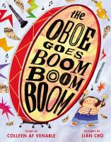 The oboe goes boom boom boom Book cover