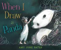 When I draw a panda Book cover