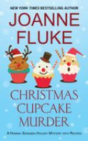 Christmas cupcake murder Book cover