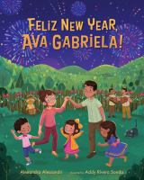 Feliz new year, Ava Gabriela! Book cover