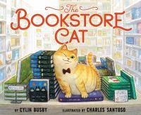 The bookstore cat Book cover