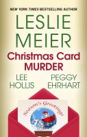 Christmas card murder  Cover Image
