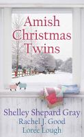 Amish Christmas twins Book cover