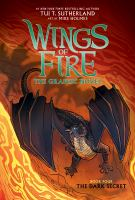 Wings of fire : the graphic novel Book four The dark secret Book cover