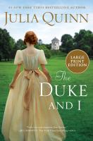 The Duke and I Book cover