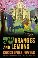 Bryant & May : oranges and lemons Book cover
