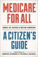 Medicare for all : a citizen's guide Book cover