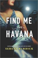 Find me in Havana Book cover