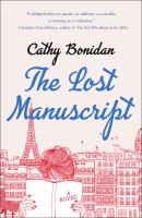 The lost manuscript Book cover