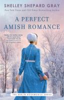 A perfect Amish romance Book cover