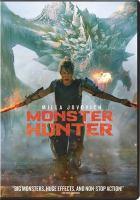 Monster Hunter Book cover
