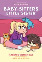 Baby-sitters little sister. 3, Karen's worst day  Cover Image