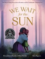 We wait for the sun Book cover