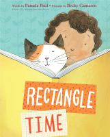 Rectangle time Book cover