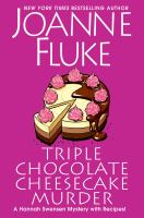 Triple chocolate cheesecake murder  Cover Image