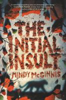 The initial insult Book cover