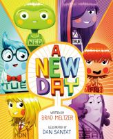 A new day Book cover