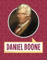 Daniel Boone Book cover
