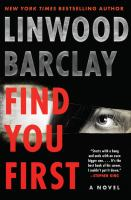 Find you first : a novel Book cover