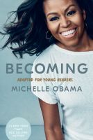 Becoming : adapted for young readers Book cover
