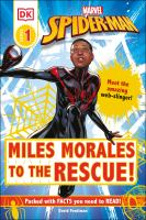 Miles Morales to the rescue! Book cover