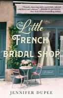 The little French bridal shop Book cover