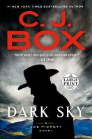 Dark sky : a Joe Pickett novel  Cover Image
