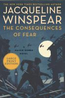 The consequences of fear Book cover