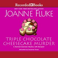 Triple chocolate cheesecake murder Book cover