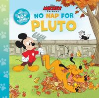 No nap for Pluto Book cover