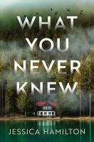 What you never knew : a novel Book cover