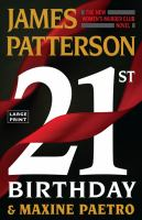 21st birthday Book cover