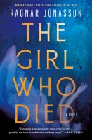 The girl who died Book cover