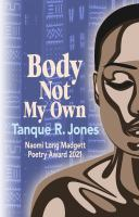 Body not my own  Cover Image