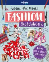 Around the world fashion sketchbook Book cover