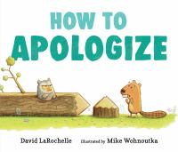How to apologize Book cover