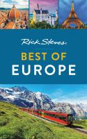 Rick Steves best of Europe Book cover