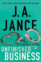 Unfinished business : an Ali Reynolds mystery Book cover