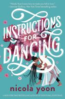 Instructions for dancing Book cover