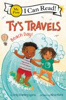 Ty's travels : beach day! Book cover