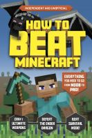 How to beat Minecraft Book cover