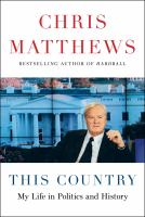 This country : my life in politics and history Book cover