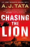 Chasing the lion Book cover