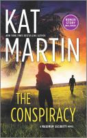 The conspiracy Book cover