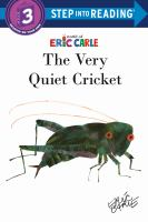 The very quiet cricket Book cover