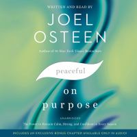 Peaceful on purpose Book cover