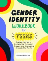 Gender identity workbook for teens Book cover