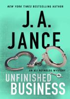 Unfinished business [Large Print] : an Ali Reynolds mystery Book cover